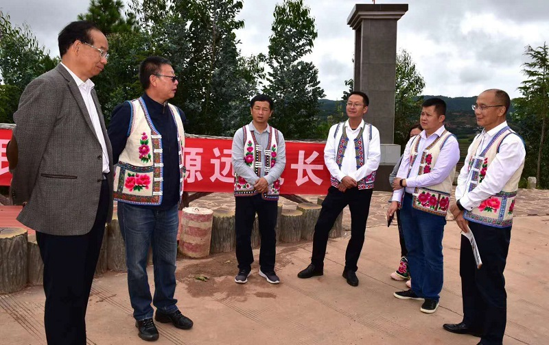省民宗委到南华县调研指导民族团结进步示范县创建工作