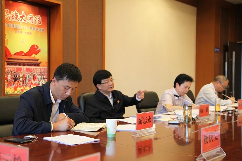 杨斌在调研统一战线工作时强调:提高政治站位 锤炼过硬作风 提升工作能力 推动工作提质增效