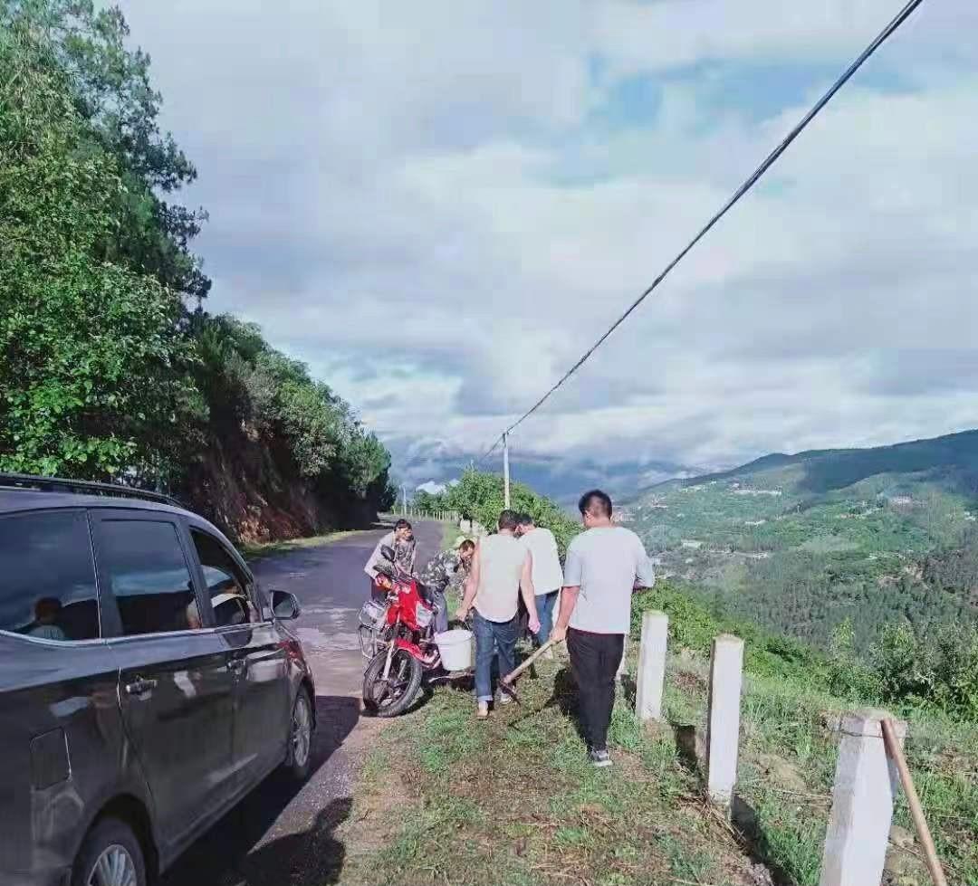 红土坡镇:创优人居环境 建设美丽家园