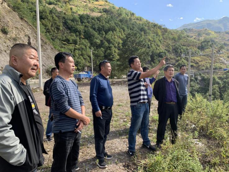 州人大常委会副主任肖武到澜沧江沿线调研水电站库区移民搬迁工作